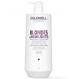 Goldwell Dual Senses Blondes and Highlights Anti Yellow Conditioner 1L