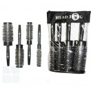 Hair Tools Head Jog Quad Brushes Black