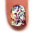 Trendy Nail Wraps( Curly Q)