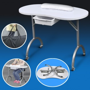 Mobile Foldable Portable Manicure station